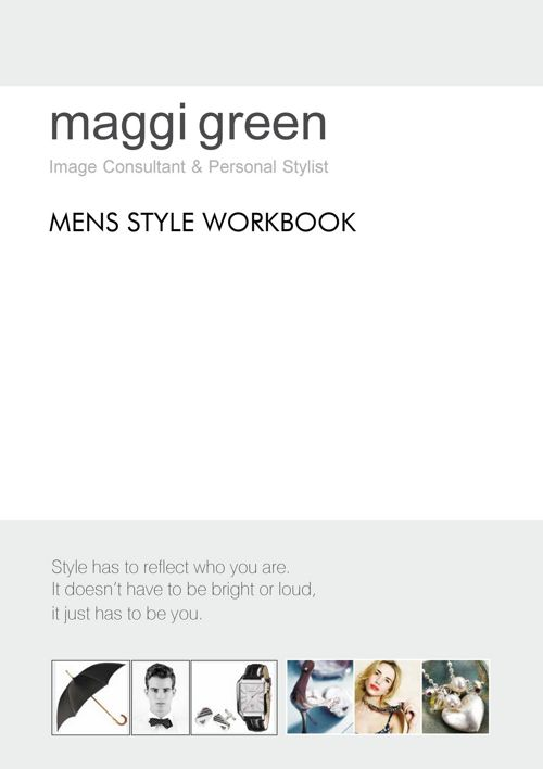 Maggi Green - Mens Booklet