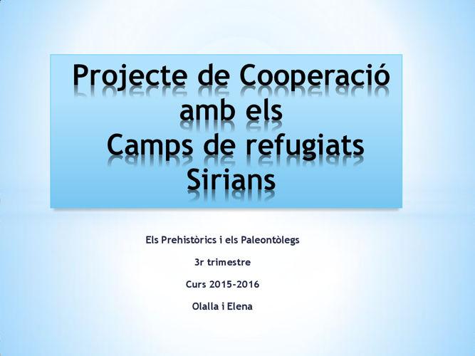 camps refugiats sirians