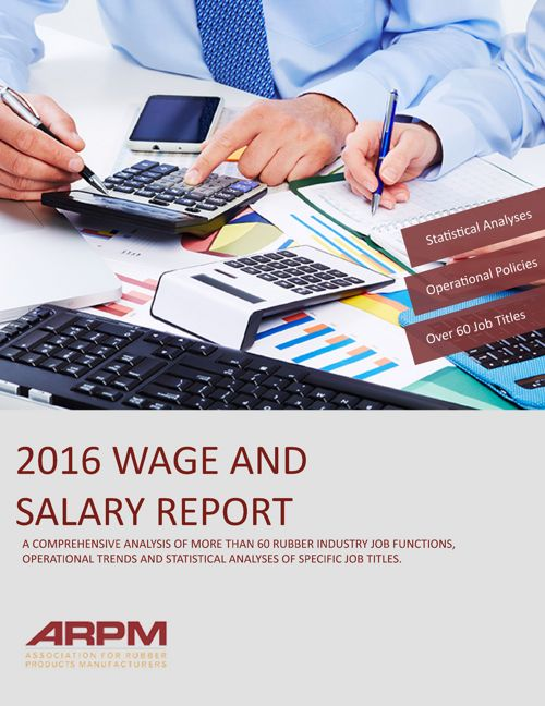 2016 Wage and Salary Report