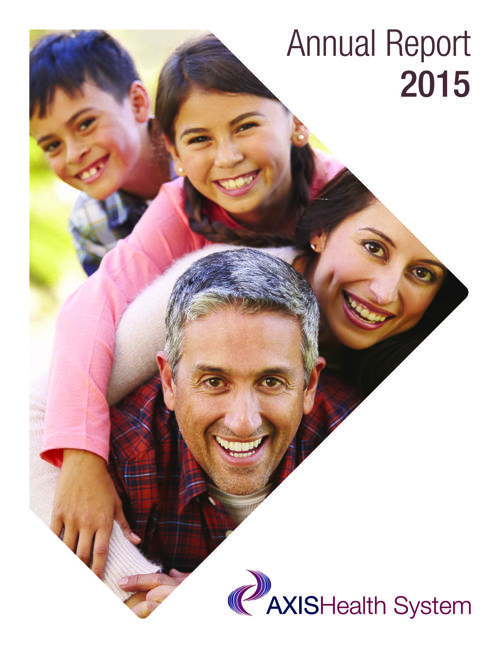 Axis Health System 2015 Annual Report