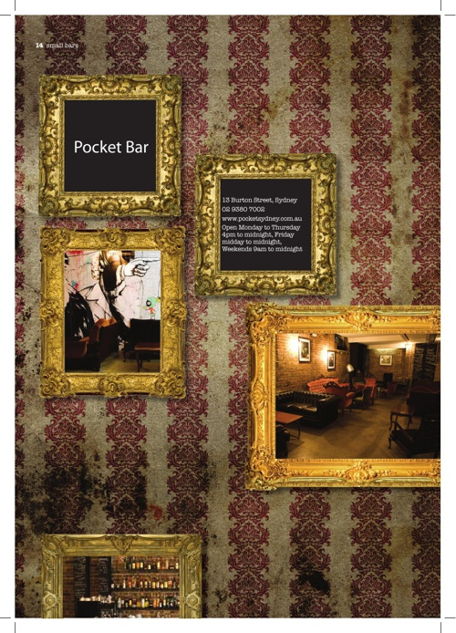 Pocket Bar (On Tap E-Book)