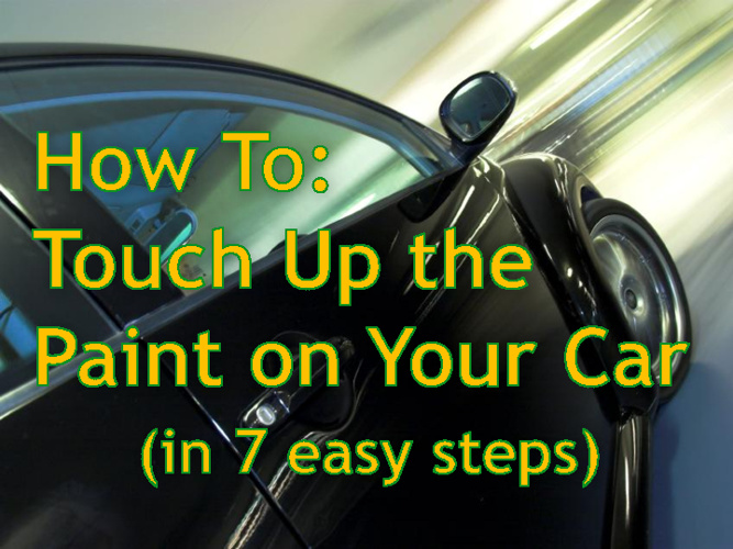 How To: Touch Up the Paint on Your Car