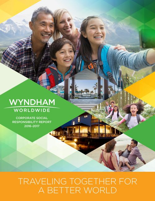 Wyndham Worldwide CSR Report 2016-2017 FINAL