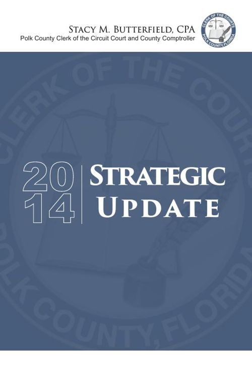 Polk County Clerk of Courts Strategic Update 2014