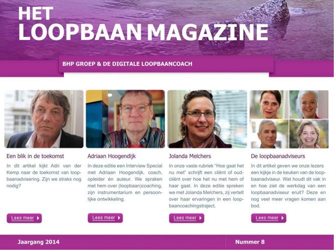Het Loopbaan Magazine - nummer 8