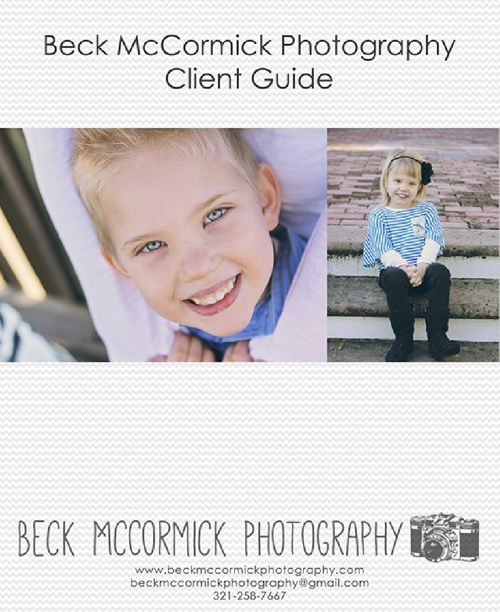Portrait Guide - Beck McCormick Photography