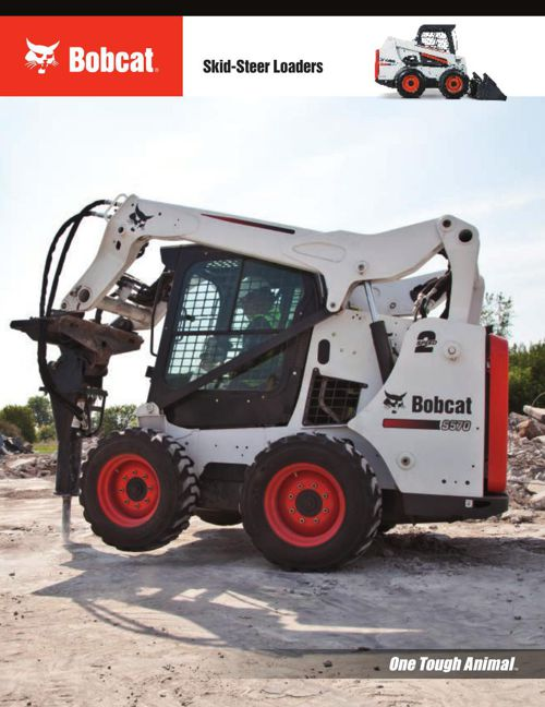 Bobcat Skid Steer Loader Brochure