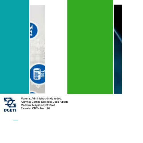Copy of ADMINISTRACIÓN DE REDES