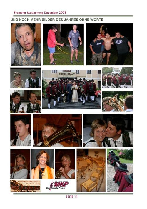 Musizeitung 2008 (Teil 2)