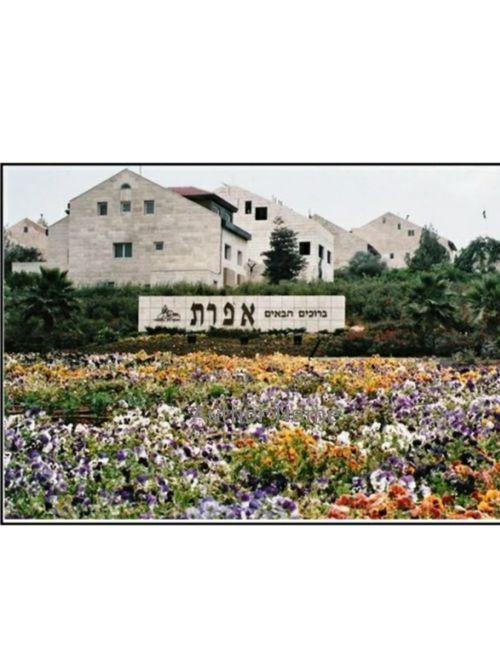 מקומות בירושלים ובאפרת