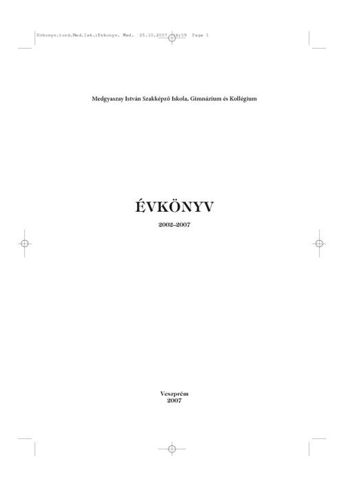 Évkönyv 2007