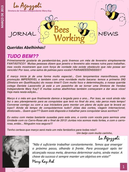 Bees Working News - Março