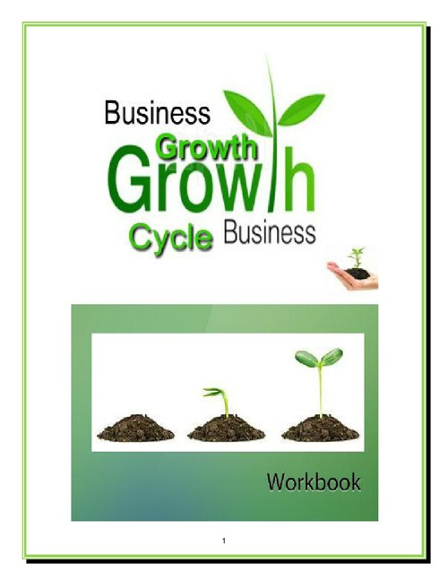Business Growth Cycle Workbook