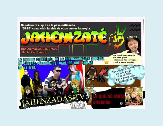 JAHENZADAS  TV.