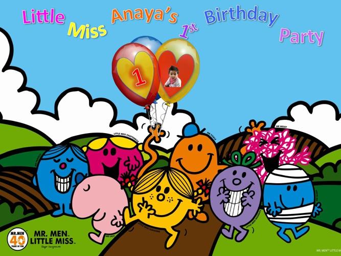 Little Miss Anaya's 1st Birthday party