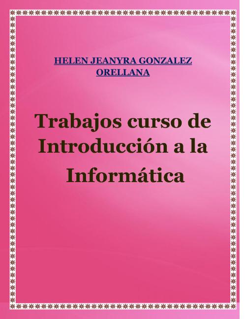 RECOPILACION DE TAREAS DE INFORMATICA