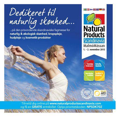 Natural Products Scandinavia Beauty 2015 Danish