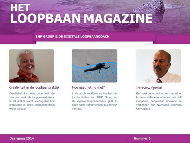 Het Loopbaan Magazine - nummer 6