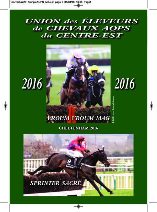 Le catalogue d'Elevage AQPS de l'Union du Centre-Est 2016
