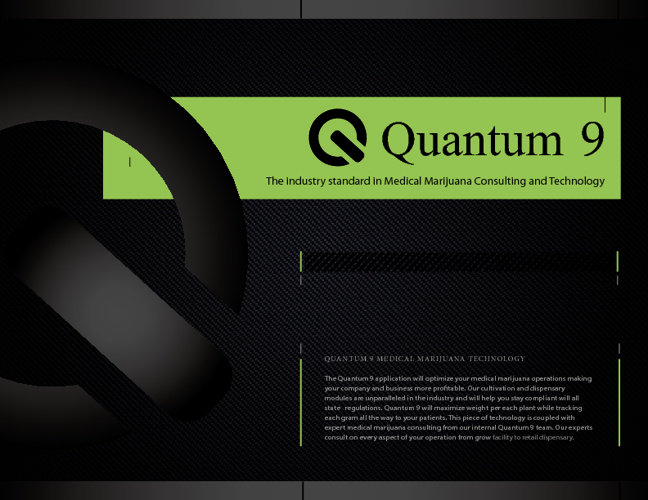 Medical Marijuana Technology | Quantum 9 Brochure