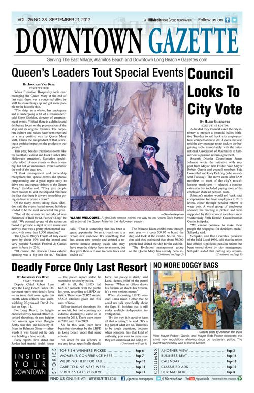 Downtown Gazette  |  September 21, 2012