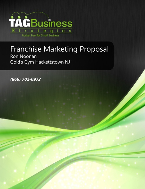 Gold's Gym Hackettstown Marketing Proposal