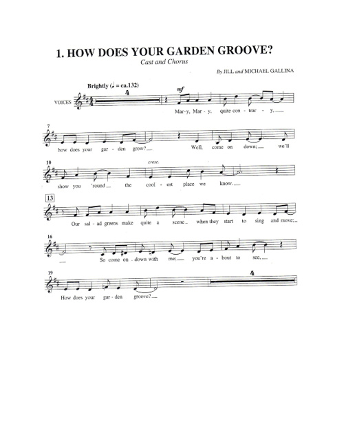 Mary Sue's music
