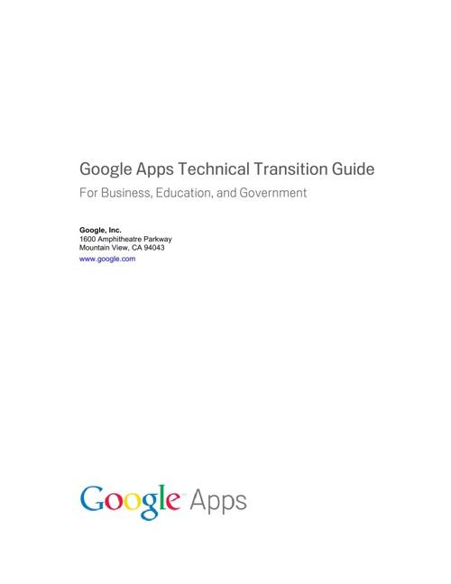 Google Deployment PDF