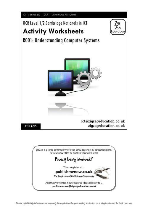 4795 - Cambridge Nationals R001 Activity Pack - unlocked