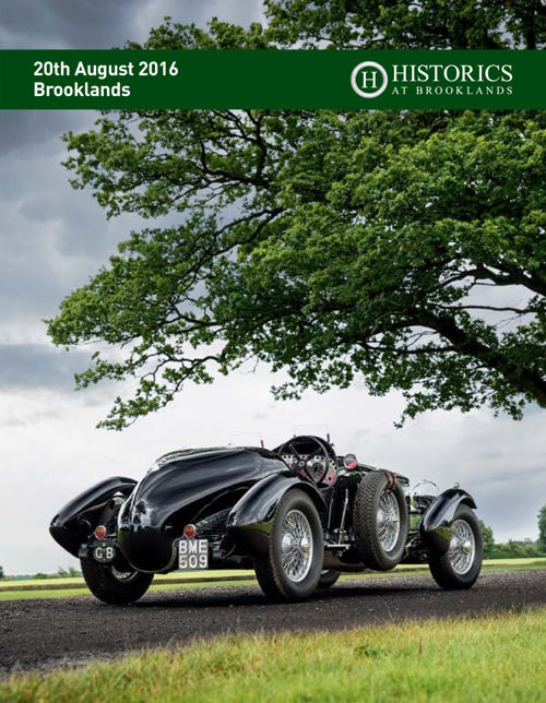 Historics at Brooklands August Sale