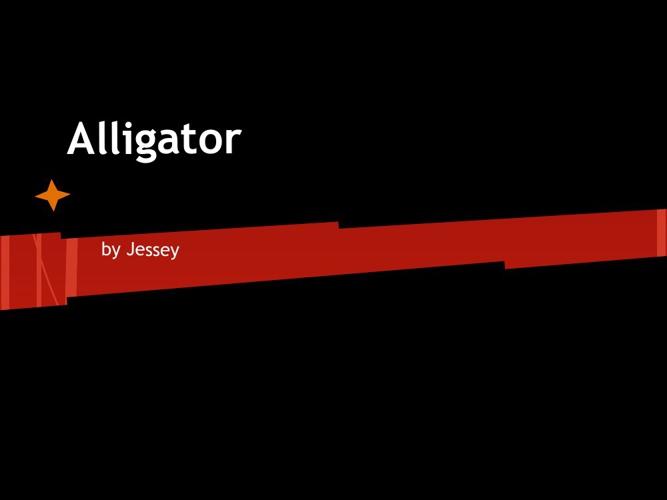The Alligators Adaptation's