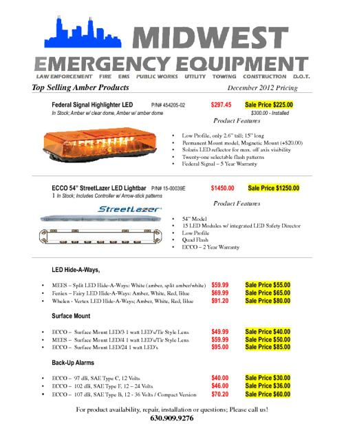 Midwest Emergency Equipment