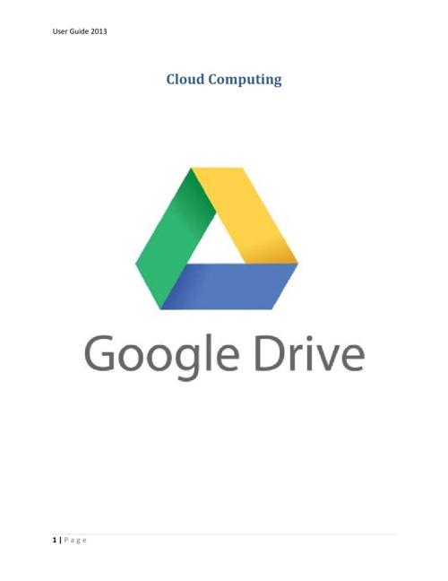 Quimestre Exam Google Docs and Cloud Computing