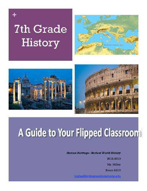 Ancient History Syllabus 2012-2013