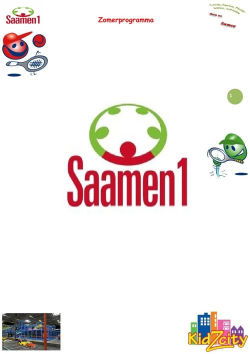 Zomerprogramma Saamen1 2013