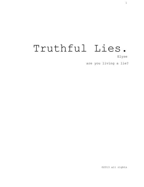 Truthful Lies Final
