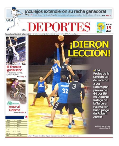 DEPORTES 28 DEmayo 2014