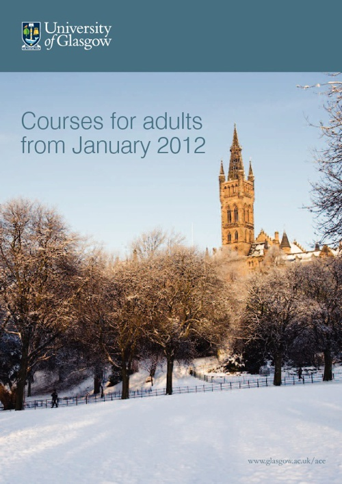 Courses for adults from January 2012