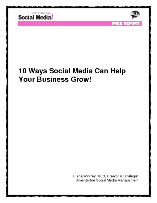 10 Ways Your Business Can Grow Using Social Media