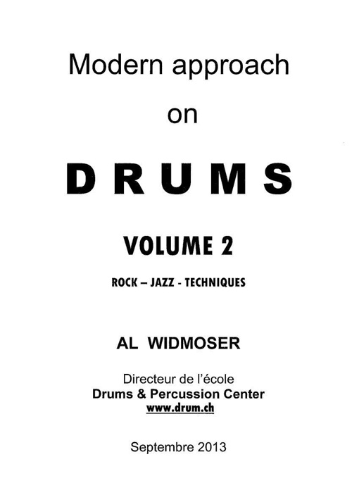 Modern approach on DRUMS - Vol 2
