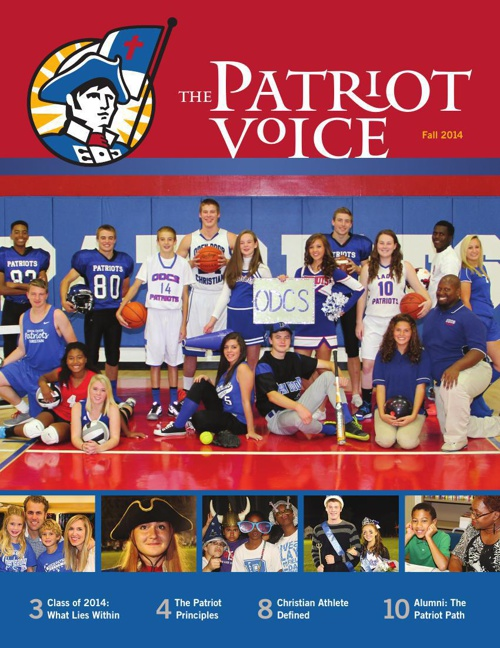 ODCS The Patriot Voice Fall 2014 Issue