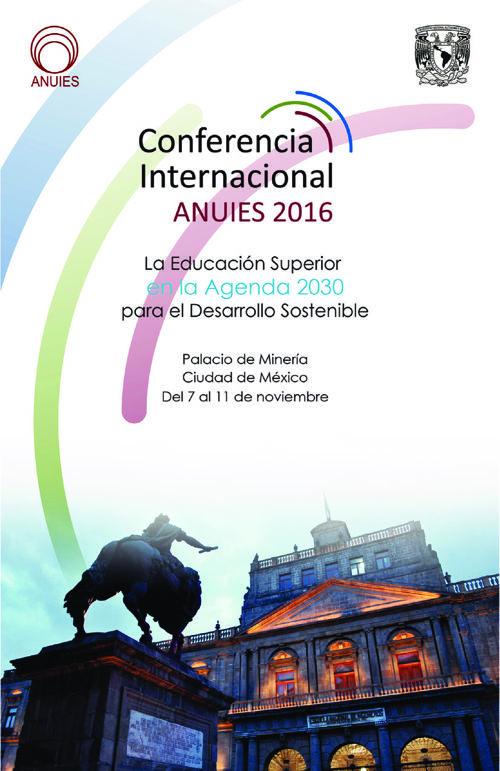 Conferencia ANUIES 2016
