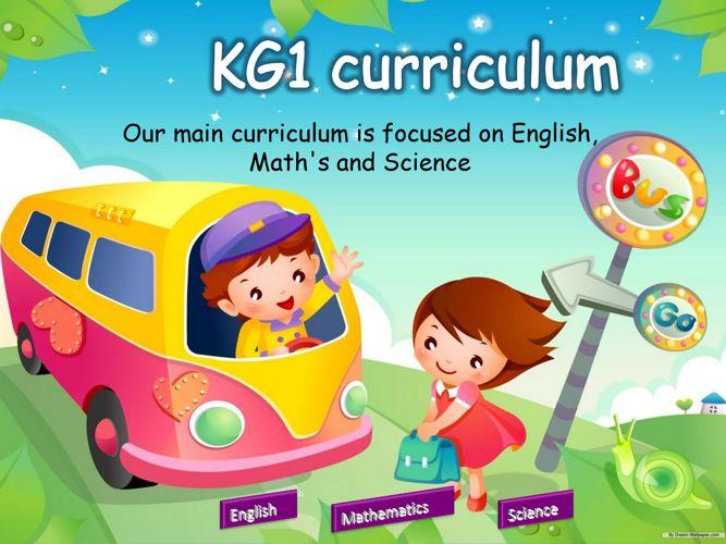 KG1 Curriculum presentation