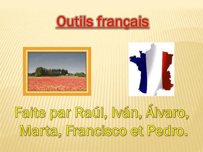 Outils français