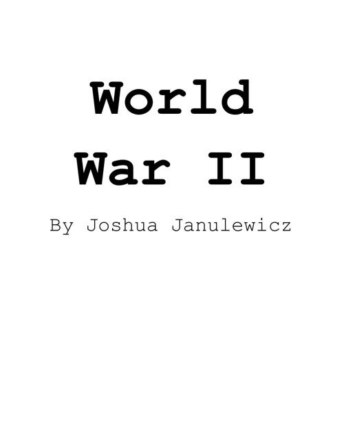 World War II Flipbook