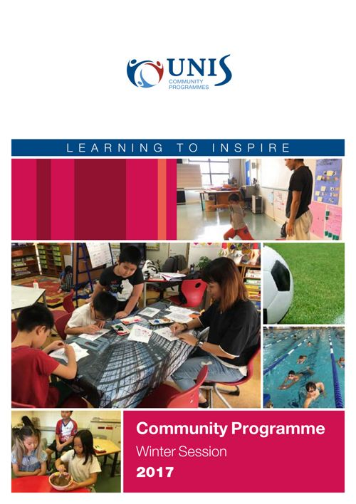 Community Programmes Brochure Winter Session 2017