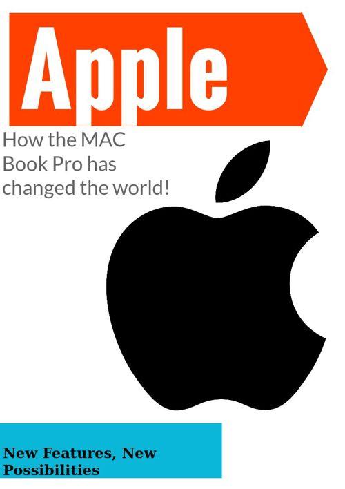 The MAC Book Pro, By; Cooper Van Dyke