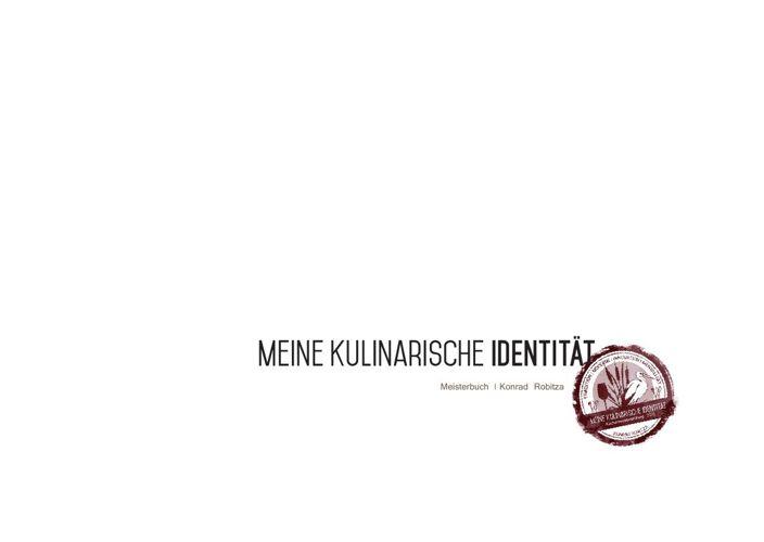 Meisterbuch ROBITZA Küchenmeister