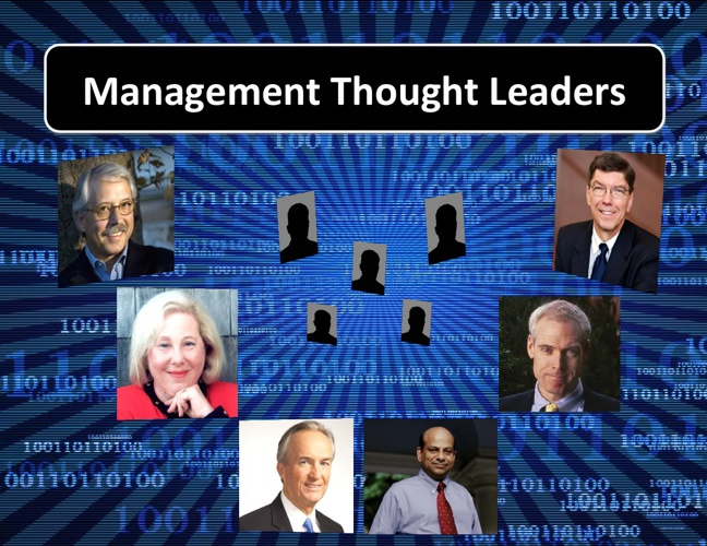 Management Thought Leaders