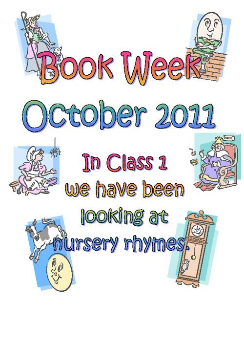 Class 1 Book Week